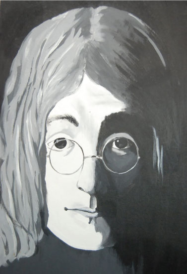 art prints - Lennon's Lenses by GoldenDreams Studio