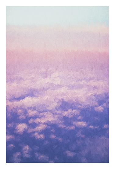 art prints - Head in the Clouds 2 by Rebecca Rueth