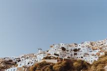 Santorini Sky by Barb Tulit