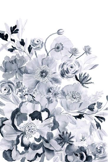 art prints - Monochromatic Floral by Yandi Jester