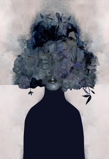 art prints - Flora Woman by Agata Wojakowska