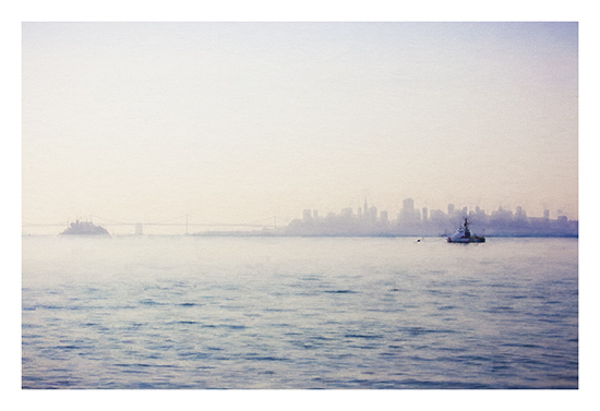 art prints - Morning on the Bay by Rebecca Rueth