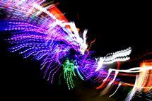 Illuminated scream by EC Bryan