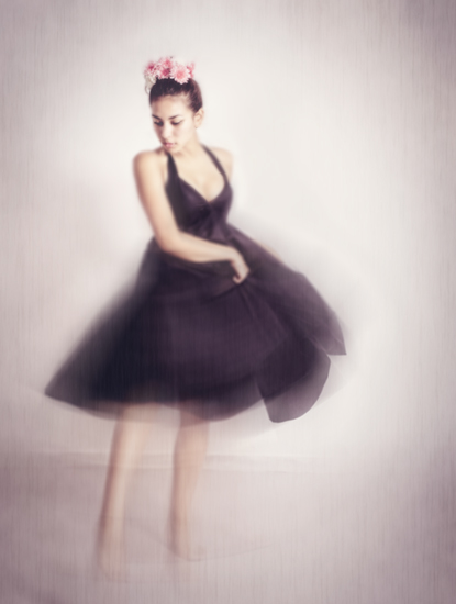 art prints - Dancer before the show by Mareike von Engelbrechten