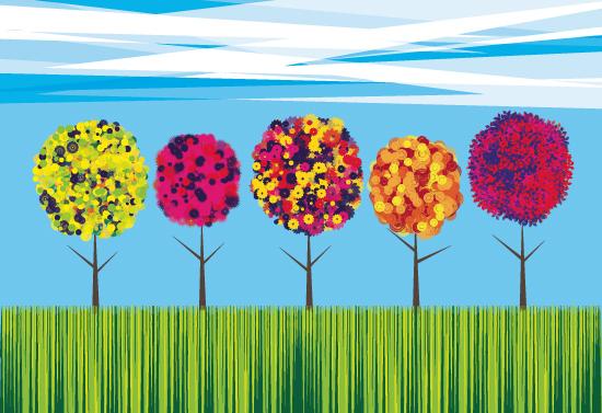 art prints - Treescape by Phill Taffs