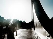 Woman Bridge by Marcela Perdomo