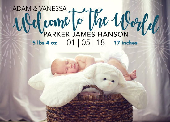 birth announcements - Welcome to the World by Michayla Pearson