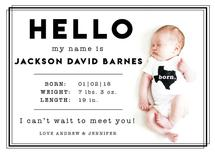 Hello Baby Border by Michayla Pearson