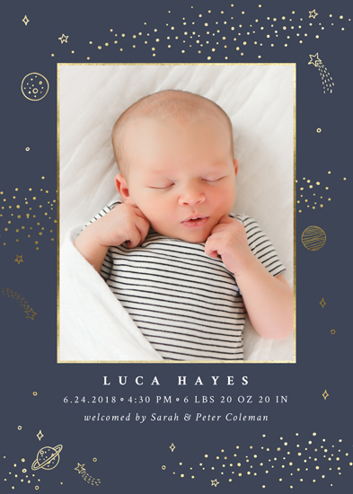 birth announcements - Out of this world by Monika Drachal
