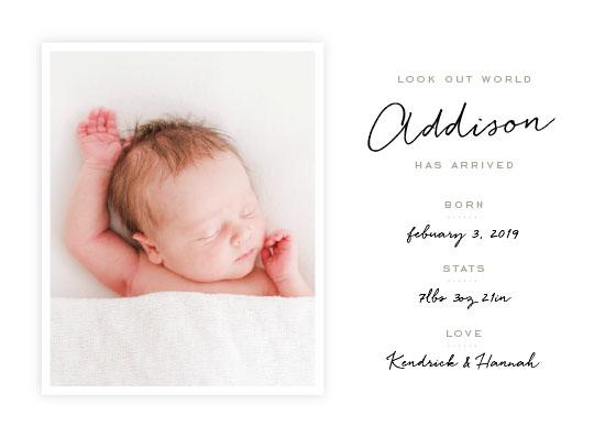 birth announcements - Portrait by Leah Bisch