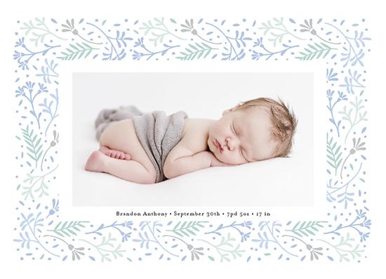birth announcements - Floral Love by frau brandt