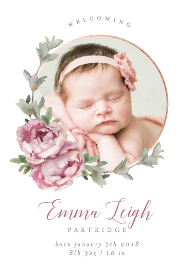 birth announcements - Precious Circlet by Cassandra Imagines