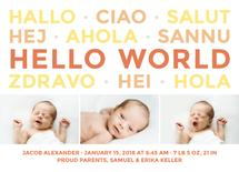How to Say Hello World by Katrine Guzman
