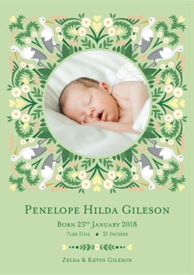 birth announcements - Beautiful Begginings by Jessamy Bridgewater