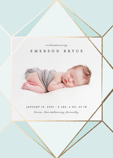 birth announcements - Radiant by Erica Krystek