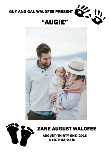 birth announcements - Ten Fingers and Ten Toes by Von Sides