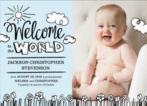New Baby, New World! by Peppermill Creative
