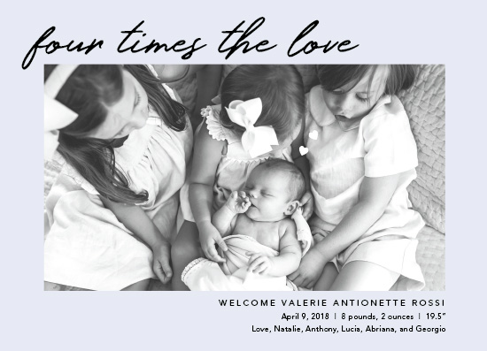 birth announcements - The Happy Crew by Wildbrook Press