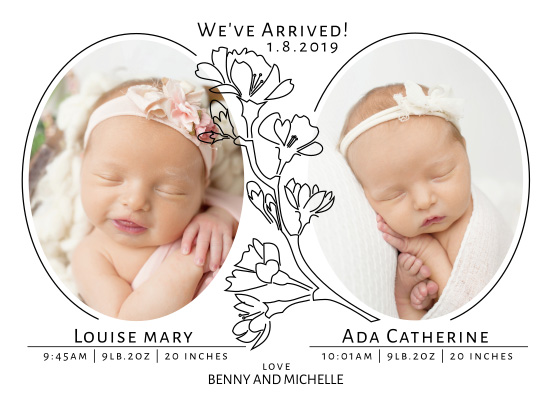 birth announcements - We've Arrived! by Amy MacCready