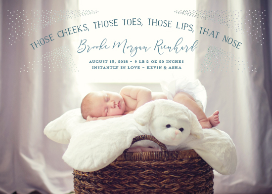 birth announcements - features by Julee London