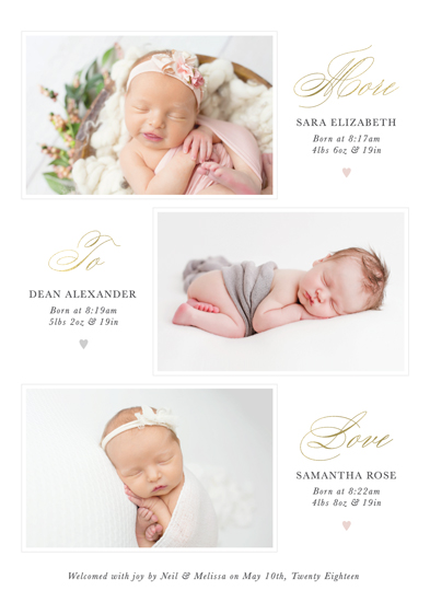birth announcements - More to Love by Brandy Folse