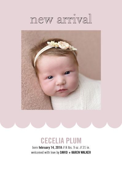 birth announcements - New Arrival Photo Card by Alexandra Cohn
