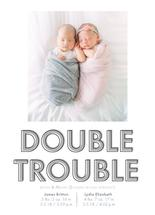 Grey Double Trouble by Sabrina Corporron