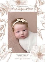 Wildflower frame by Madrona Press