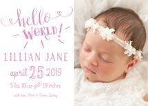 Baby's First Hello by Beth Hunt