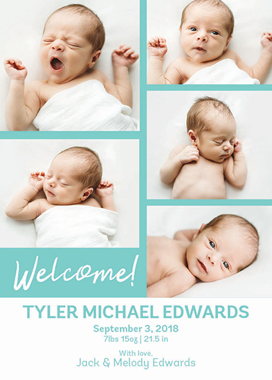 birth announcements - welcome announcement by Natalie H
