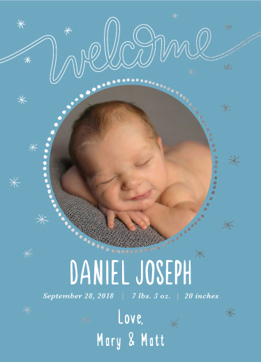 birth announcements - Star Dreams by Tania Cenzano