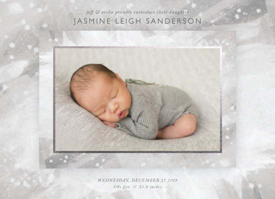 birth announcements - Mini Masterpiece by itsjensworld