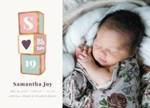 Monogram Baby Blocks by Katrine Guzman