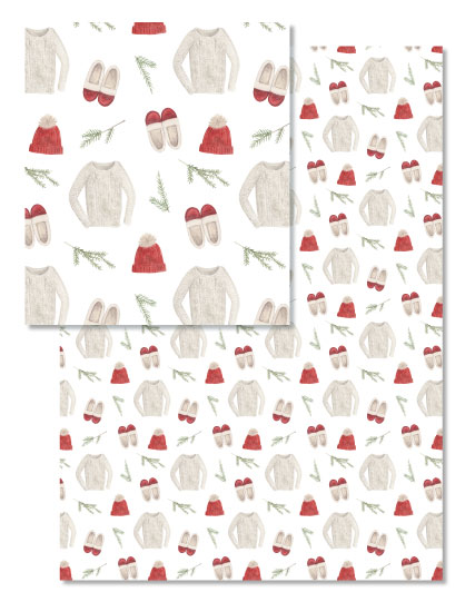 - Coziest Holiday Gift Wrap by Amy Zhang