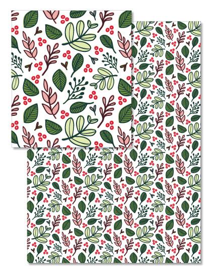 - Holiday Greenery by Ashley McCallister