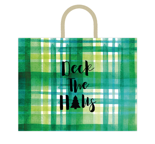 - Deck The Halls Plaid by Kelsey Beaudoin