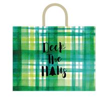 Deck The Halls Plaid by Kelsey Beaudoin