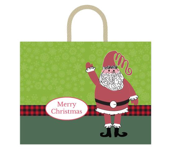 - Waving Santa by Jennifer Warren