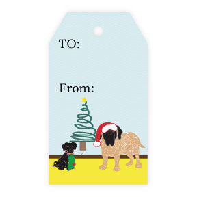 - Santa Paws Tag by Jennifer Warren