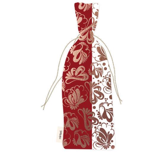 - Christmas Dream Wine bag by Maria Bazarova