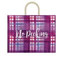 No Peeking Plaid by Kelsey Beaudoin