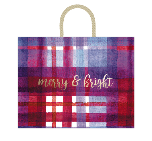 - Merry & Bright Plaid by Kelsey Beaudoin