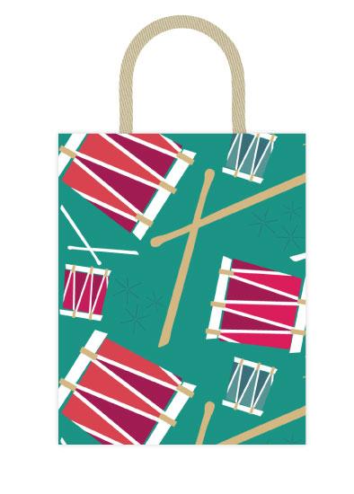 - Pa-rum Pa Pum Pum Gift Bag by Sarah Teske