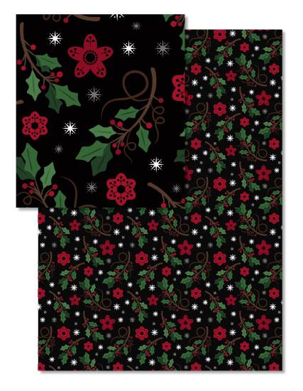 - Happy Holiday Holly Folk by Nicole Emel