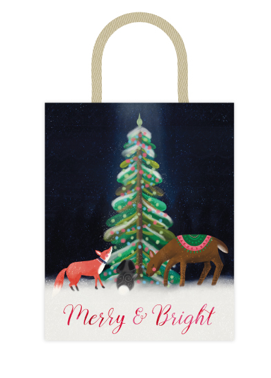 - Merry and Bright Forest Scene by Noonday Design