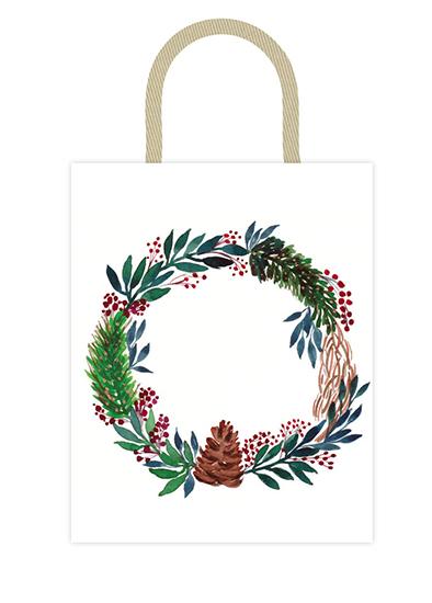 - Christmas Wreath by Lu Haddad