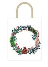 Christmas Wreath by Lu Haddad