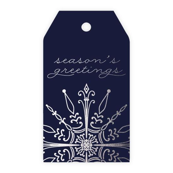 - Season's Greetings Snowflake by Noonday Design