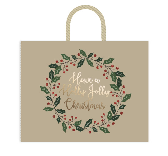 - Holly Jolly Wreath by Audra Candelaria