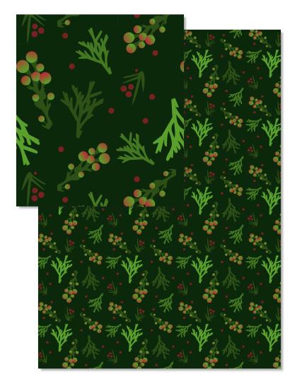 - Festive Greens by Amy MacCready